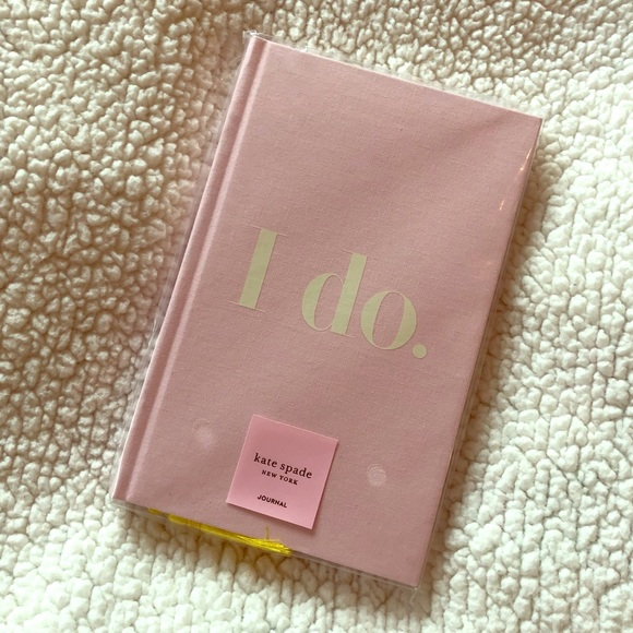 "kate spade Other - Kate Spade Bridal ""I Do"" Journal - Pink"